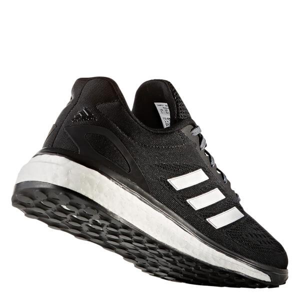 Donne e scarpe adidas risposta nucleo nero / sportiva argentata