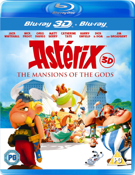 Asterix & Obelix: Mansion Of The Gods 3D (Includes 2D Version)