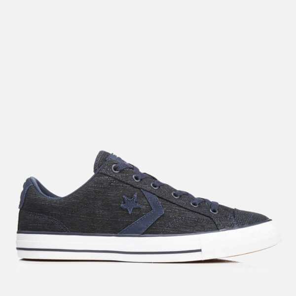 bad56ce16b8d Converse Men s CONS Star Player Ox Trainers - Obsidian Athletic Navy White   Image