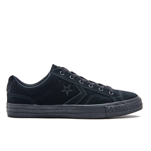 Converse Men's CONS Star Player Ox Trainers - Black