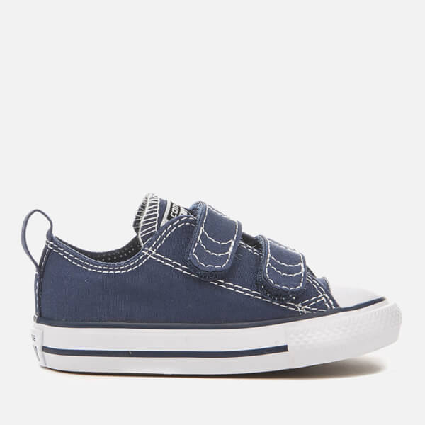 Converse Toddlers  Chuck Taylor All Star V Trainers - Navy White  Image 1 79342e7f7