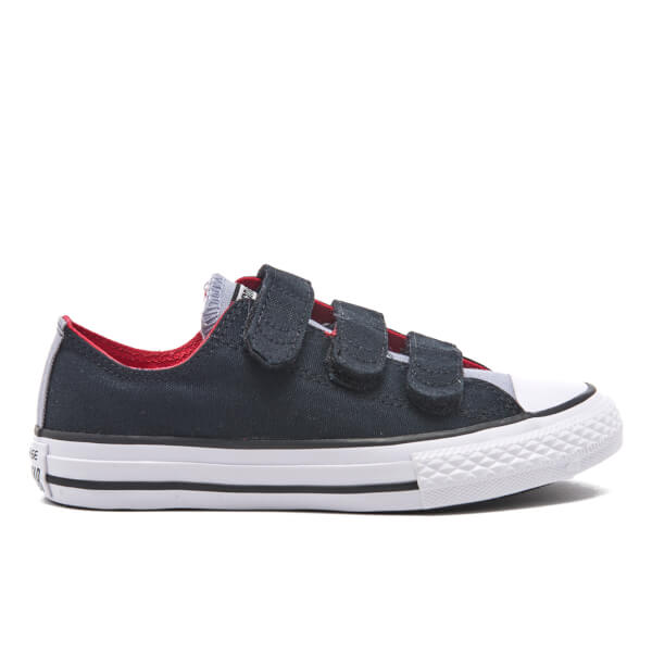 82b5f30e3ab6 Converse Kids  Chuck Taylor All Star II 3V Ox Trainers - Black Blue Granite