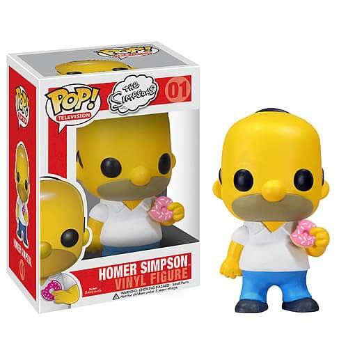 Funko Homer Simpson Pop! Vinyl