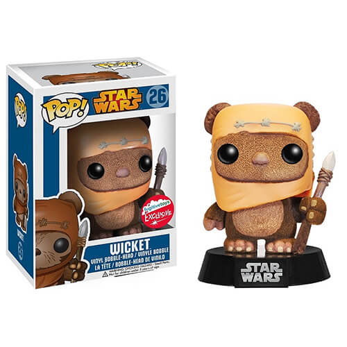 Funko Flocked Wicket (Fugitive Toys) Pop! Vinyl