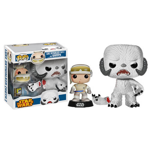 Funko Luke Skywalker (Hoth) And Wampa Pop! Vinyl