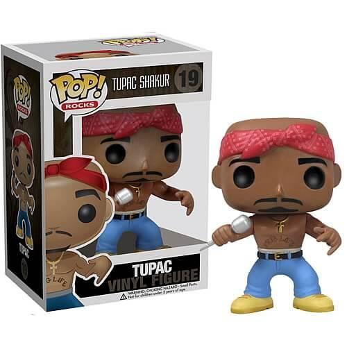 Funko Tupac Shakur Pop Vinyl Pop In A Box Uk