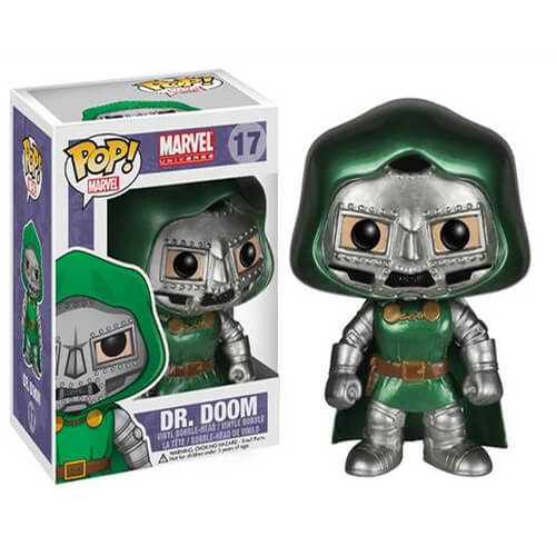 Funko Dr Doom (Metallic) Pop! Vinyl