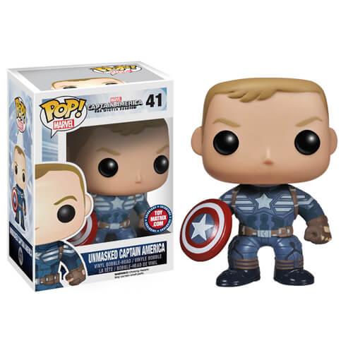 Funko Unmasked Captain America Pop! Vinyl