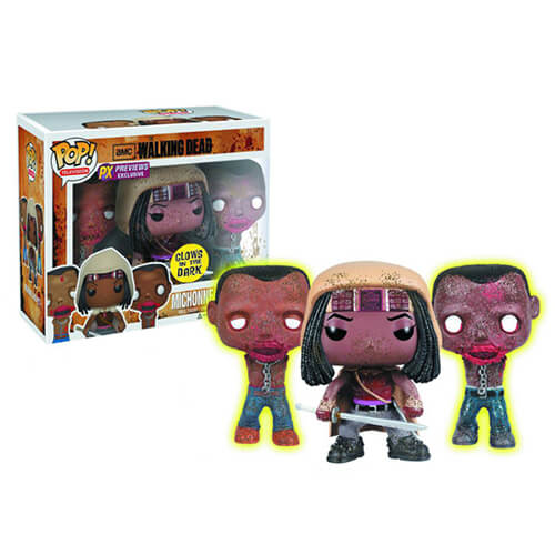 Funko Michonne And Her Pets Pop! Vinyl