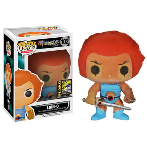 Funko Lion-O (Flocked) Pop! Vinyl