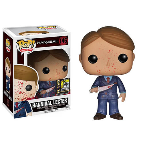 Funko Bloody Hannibal Lecter SDCC 2014 Pop! Vinyl