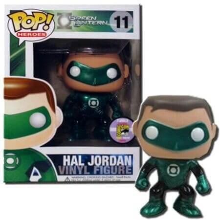 Funko Green Lantern Hal Jordan (Metallic) Pop! Vinyl