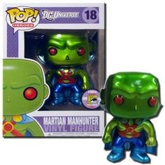 Funko Martian Manhunter (Metallic) Pop! Vinyl
