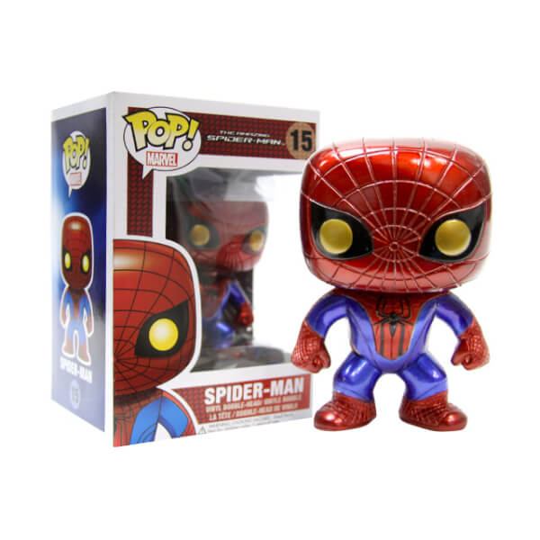 Funko Spider-Man Metallic (SDCC 2012) Pop! Vinyl