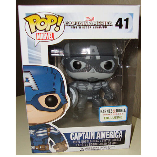Funko Captain America B And W Pop! Vinyl