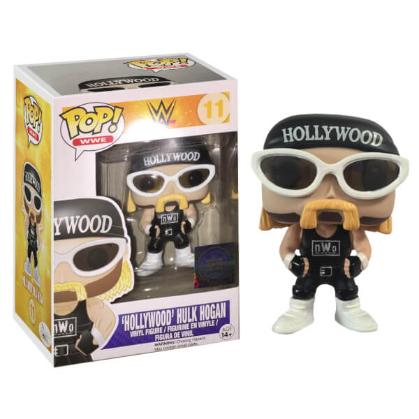 Funko Hollywood Hulk Hogan Wwe 2k15 Exclusive Pop Vinyl