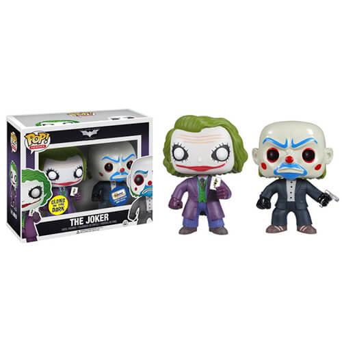 Funko GITD Joker Duo Gemini Exclusive Pop! Vinyl