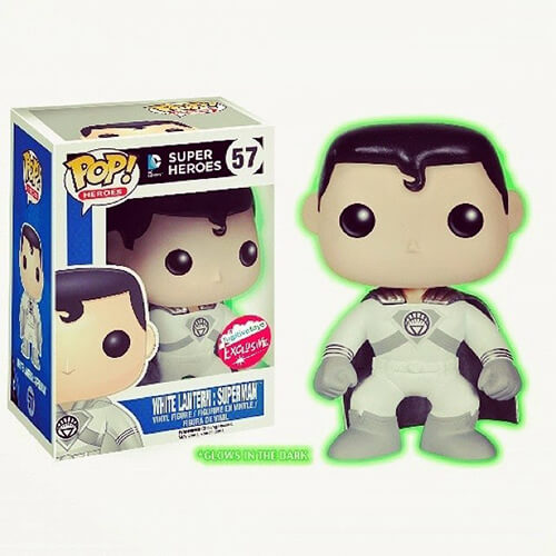 Funko White Lantern Superman GITD Pop! Vinyl