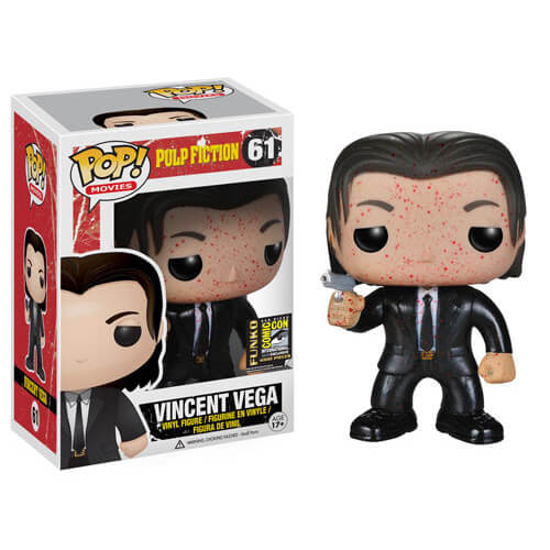 Funko Vincent Vega (SDCC Bloody) Pop! Vinyl