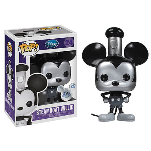 Funko Steamboat Willie (Metallic) Pop! Vinyl