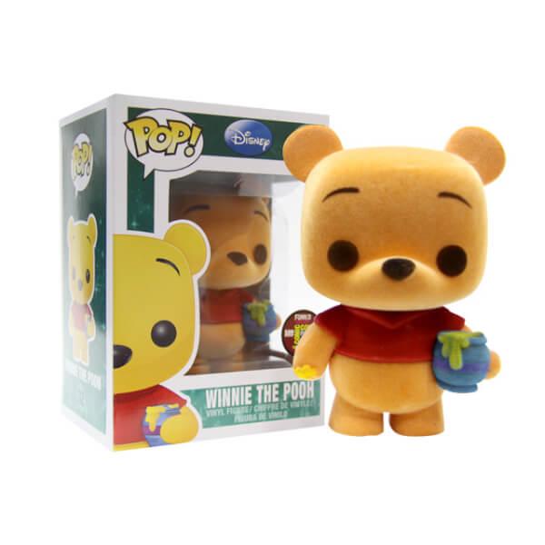 Funko Winnie The Pooh (Flocked) Pop! Vinyl