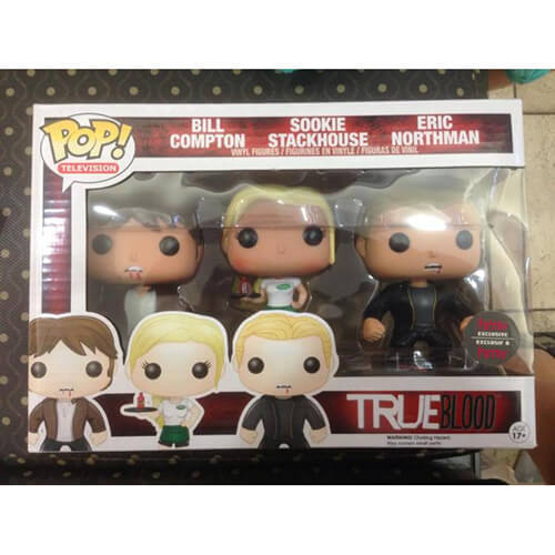 Funko True Blood Triple Pack Pop! Vinyl