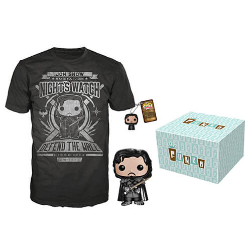 Funko Amazon Exclusive Jon Snow Bundle Pop! Vinyl