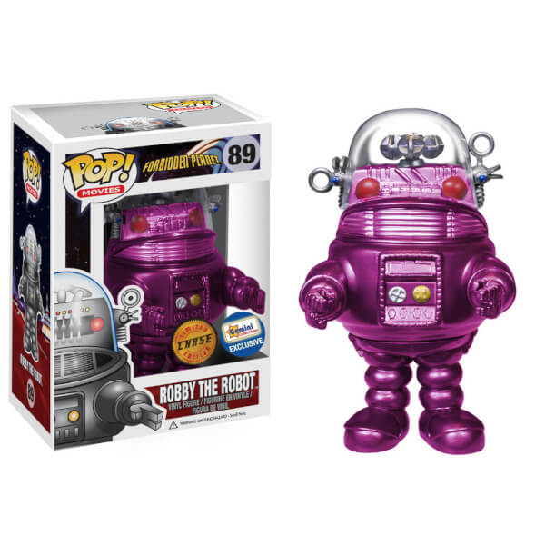 Funko Robby The Robot (Bright Pink) Pop! Vinyl