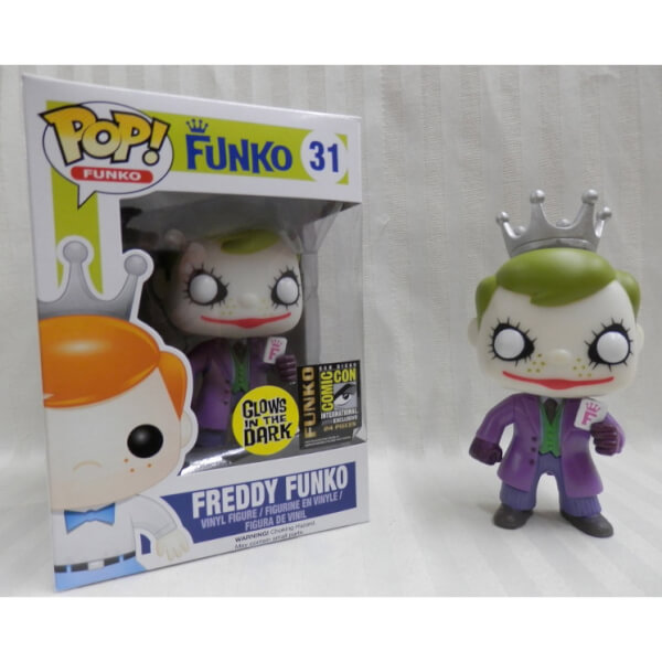 Funko The Joker The Dark Knight Glow (Freddy) Pop! Vinyl