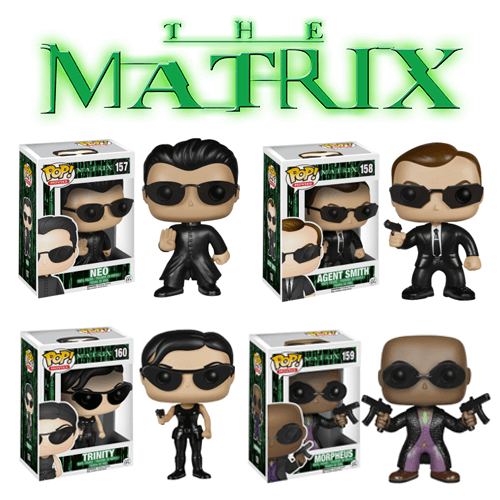 Funko The Matrix Set Pop! Vinyl