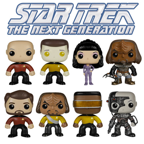 Funko Star Trek Set (8) Pop! Vinyl