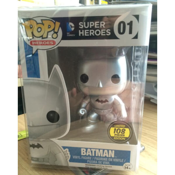 Funko Silver Batman Pop! Vinyl