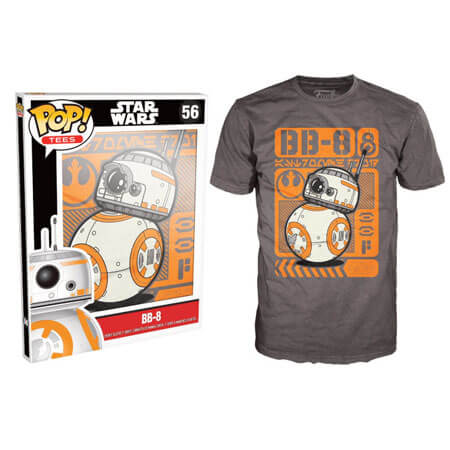 Funko Star Wars Pop! Tee Bb8 Rolling Pop! Tees