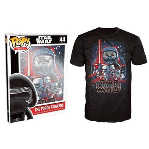 Funko Star Wars Pop! Tee The Force Awakens Pop! Tees