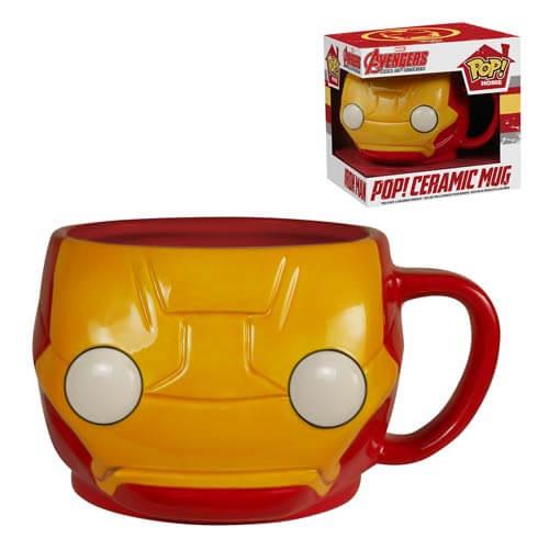 Funko Iron Man Mug Pop! Home