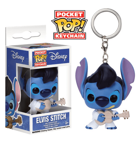 Funko Elvis Stitch Pop! Keychain