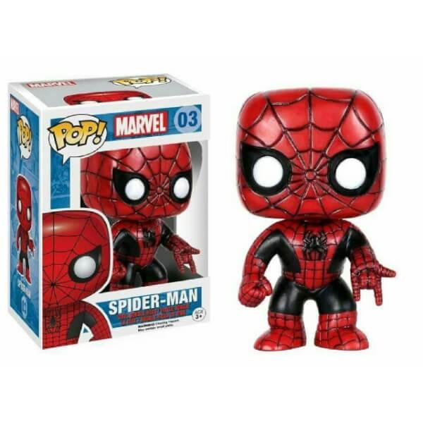 Funko Spider-Man (Red And Black) Pop! Vinyl