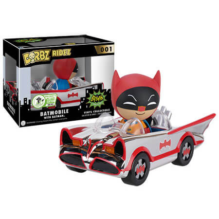 Vinyl Sugar 1966 Batmobile - Chrome-Plated Dorbz Ridez