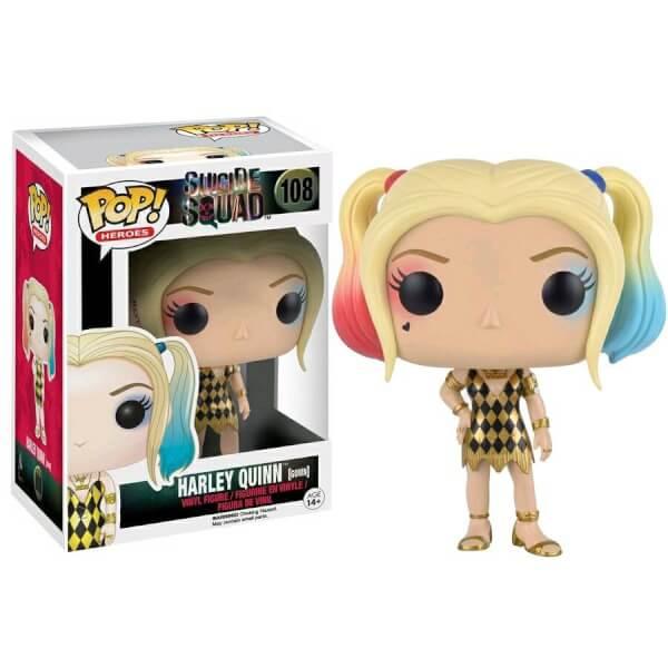 Funko Harley Quinn Gown Pop Vinyl Pop In A Box Uk