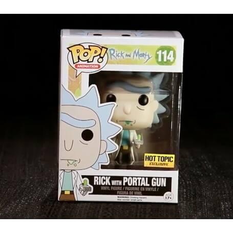 Funko Rick With Portal Gun Pop! Vinyl