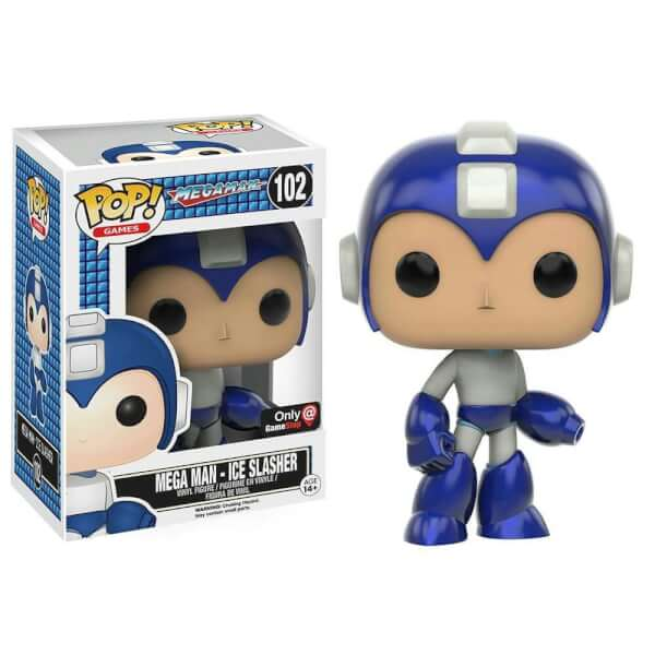 Funko Mega Man - Ice Slasher Pop! Vinyl