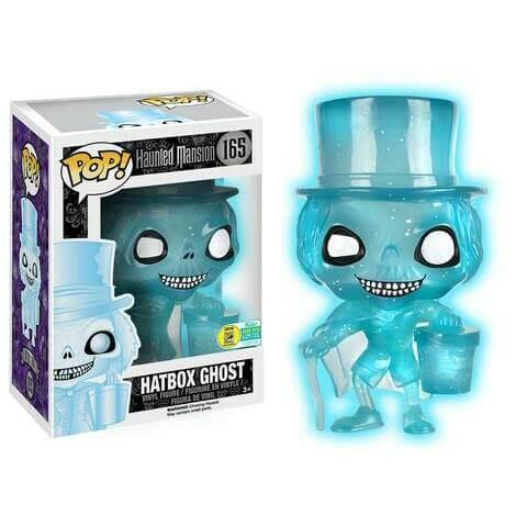 Funko Hatbox Ghost (Blue Glow Glitter) Pop! Vinyl