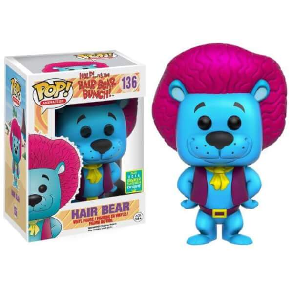 Funko Hair Bear (Blue) Pop! Vinyl