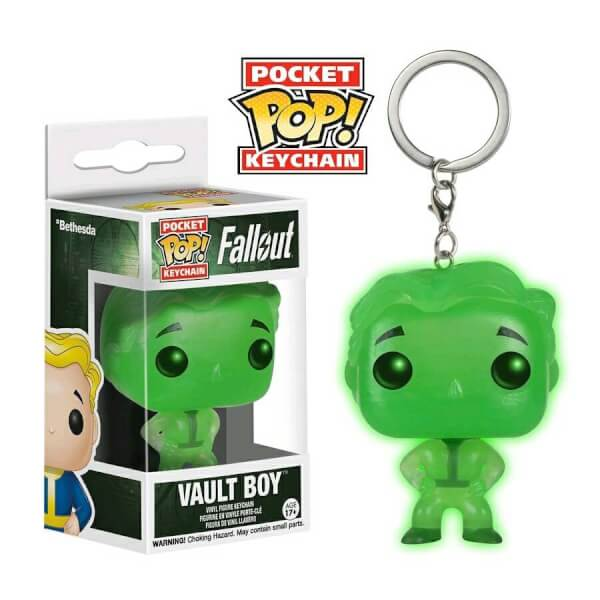 Funko Vault Boy (GITD) Pop! Keychain