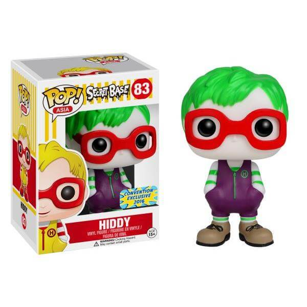 Funko Hiddy Pop! Vinyl