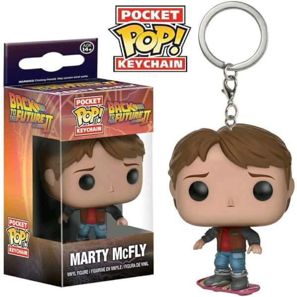 Funko Marty Mcfly Pop! Keychain