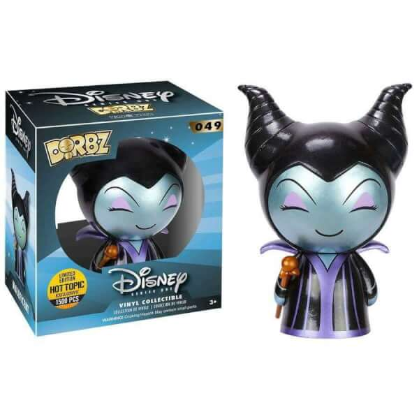 Vinyl Sugar Maleficent (Metallic) Dorbz