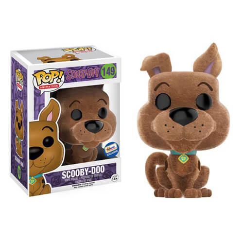 Funko Scooby-Doo (Flocked) Pop! Vinyl
