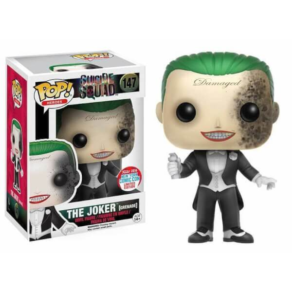 Funko The Joker Grenade Pop Vinyl Pop In A Box France