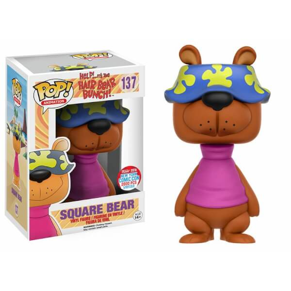 Funko Square Bear Pop! Vinyl